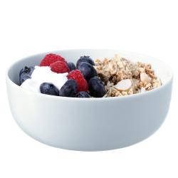 Dine Set of 4 cereal bowls, 15cm, white