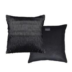 Tassle Cushion, L40 x W40cm, black
