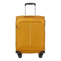 Popsoda Spinner suitcase, 55 x 40 x 20cm, yellow