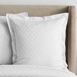 Westell Square pillowcase, 65 x 65cm, platinum