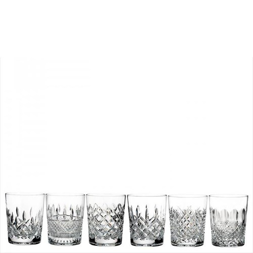 Lismore Connoisseur Set of 6 double old fashioned tumblers, 400ml