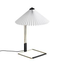 Matin by Inga Sempé Table lamp, H38 x W30 x D30cm, white