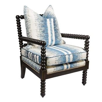 Bobble Armchair, W63 x D63 x H80cm, blackberry