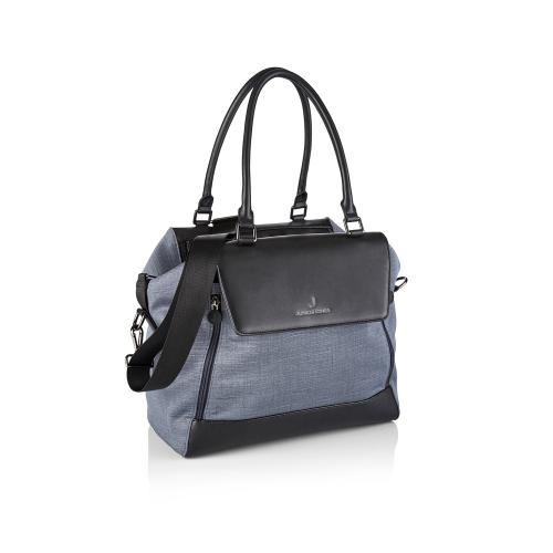 Jessie Changing bag, Frost grey, H27 x W34 x L17cm, Grey