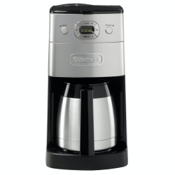 Grind and Brew Coffee machine, Brushed Stainless Steel
