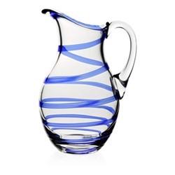 Studio - Bella Blue Pitcher, 28.5cm - 2 litre, blue