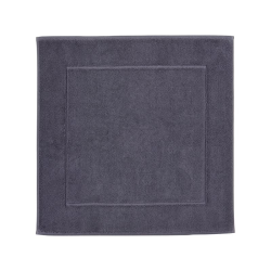 London Bath mat, 60 x 60cm, Graphite
