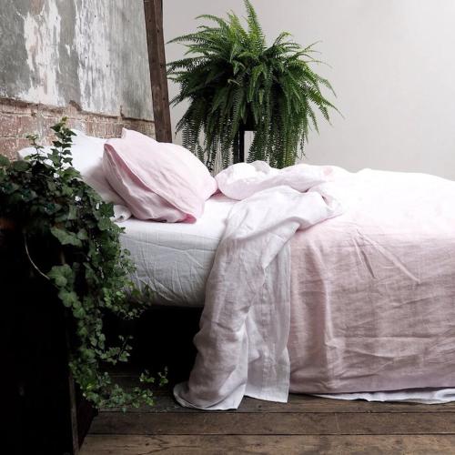 Super king duvet cover, 220 x 260cm, Blush Pink