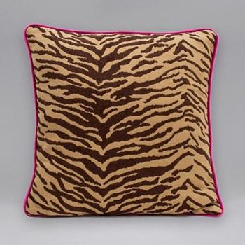 Into The Wild Cushion, 45 x 45cm, tiger print