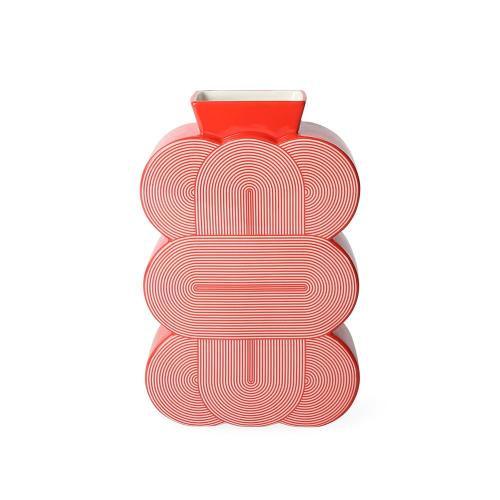 Pompidou Vase, H24 x W15 x D6.4cm
