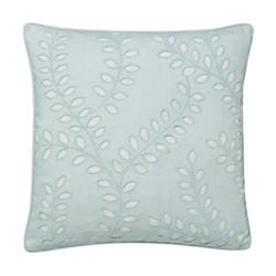 Delphiniums Cushion, L40 x W40 x H10cm, mint