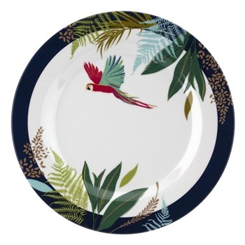 Parrot Side Plate, 20cm