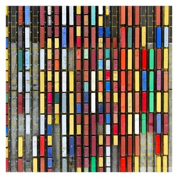Example Artwork Coloured Containers by Tommy Clarke