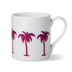 Palm Tree Mug, Dia8.5 x H9cm - 1 pint