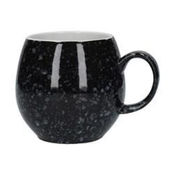 Pebble Mug, H9cm, flecked black