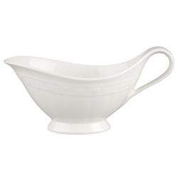 White Pearl Sauceboat without stand, 40cl