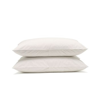 Classic Bedding Pair of pillowcases, 50 x 75cm, snow