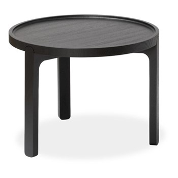 Indskud Tray table, Dia48 x H37cm, black
