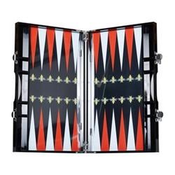 Backgammon set L35.3 x W21.4 x D4.7cm