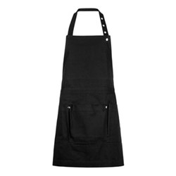 Canvas Creative and garden apron, 100 x 74cm, black