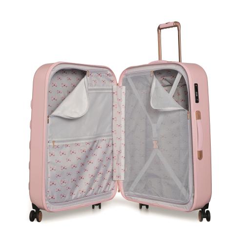 Beau Large suitcase, L79 x W53 x D31cm, Pink