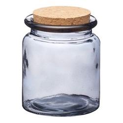 Natural Elements Storage jar, 9.5 x 7.5cm, smoky