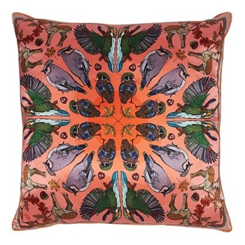 Autumn Coral Cushion, L45 x W45cm, multi