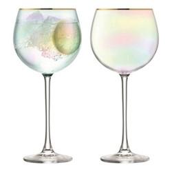 Sorbet Pair of balloon Glasses, 0.52 litre, nougat