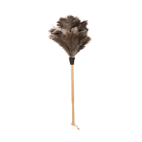 Ostrich feather duster, 44cm
