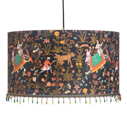 Hindustan Anthracite Pendant Lamp, H22 x Dia35cm