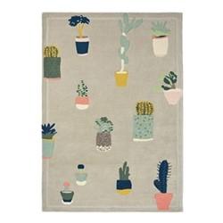 Cactus Rug, 170 x 240cm, grey