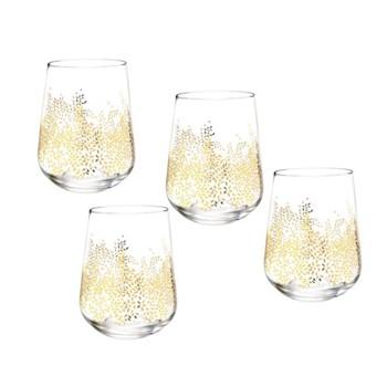 Set of 4 stemless wine glasses 0.41 Litre