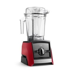 Ascent Series A2300i blender, red