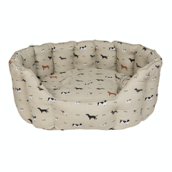 Woof! Large pet bed, 83 x 33 x 64cm, Removable Cushion