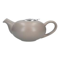 Pebble 4 cup teapot, H9 x D17cm, putty