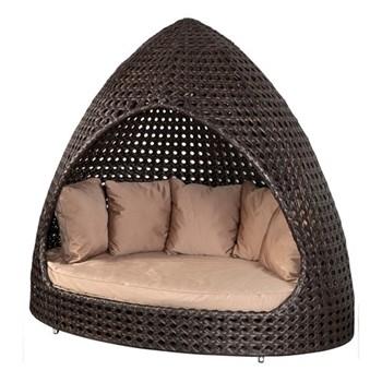 Ocean - Maldives Relax hut with cushion, H190 x W220 x D115cm, bronze