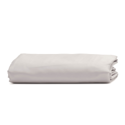 Luxe Bedding Double deep fitted sheet, 135 x 190cm, dove