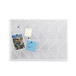 Trigon Bulletboard, white