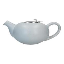 Pebble 4 cup teapot, H9 x D17cm, light blue
