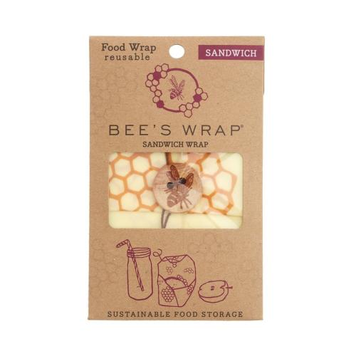 Bee's Wrap Print Sandwich wrap, 33 x 33cm