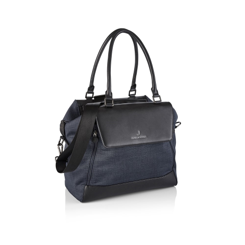 Jessie Changing bag, Graphite black, H27 x W34 x L17cm, Black