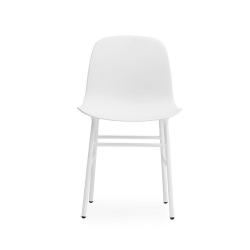 Form Dining chair, L48 x H80 x D52cm, White