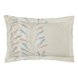 Sea Kelp Oxford pillowcase, L48 x W74 cm, blush