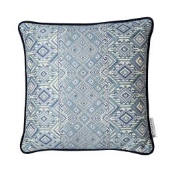 Nahuala Cushion, 50 x 50cm, blue