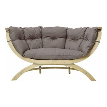 Siena Garden sofa, 171.5 x 94 x 67cm, taupe