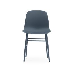 Form Dining chair, L48 x H80 x D52cm, Blue