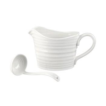 Sauce jug & mini ladle