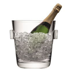 Madrid Champagne bucket, clear