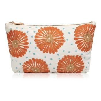 Kenya Collection - Lamu Jaffa Travel pouch, 20 x 30cm, orange
