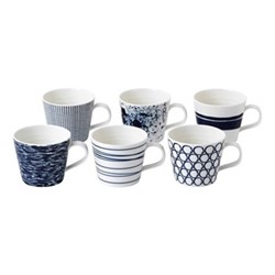 Pacific Set of 6 small mugs